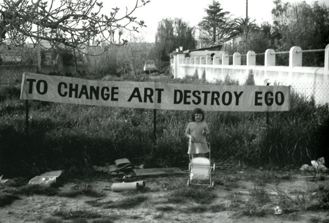 Ben Vautier, To Change Art Destroy Ego