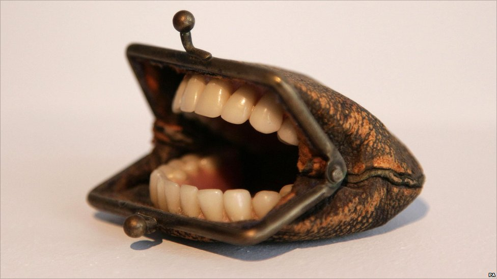 Nancy Fouts, Purse with Teeth