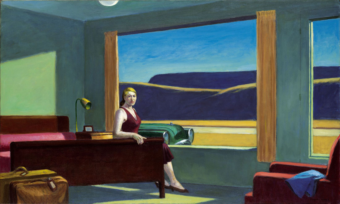 Western Motel di Edward Hopper (1957)